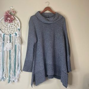 Eight Eight Eight Knit Cowl Neck Sweater Size XL